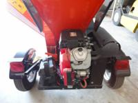 "5"" Chipper CapacityEngine: Gas Powered Honda 670cc"
