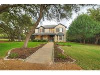 Picturesque home in a select area of Dripping Springs