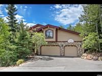 Nestled among Aspens on a .49 acre lot in Iron Canyon,