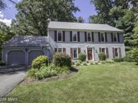 Wow! Handsome Classic Colonial with Open Floorplan &