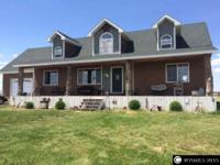 Like new 2-story home that is located on 8.94 acres.