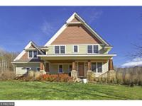 Custom built craftsman style 2-story in desired Birch