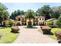 Beautiful Lake Apopka home features over 300 feet of