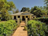 Central Austin-Hyde Park. Main home 1778 sq ft, granite