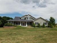 Magnificent 5 bedroom 4 bath home on 2.4 acres. Two