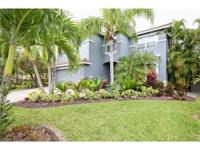 Nestled on the most desirable lot in the gated