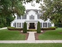 Classically elegant Colonial-style home, proudly