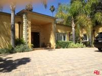 A spacious 4, 222 sqf one story gated mediterranean