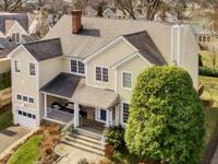 This 5 bedroom center hall colonial in the private