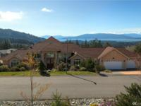 Incredible Samish Highlands custom home with panoramic