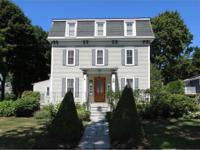 This c1870 Classic Mansard Colonial sits on a level,