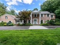 Beautifully Renovated In 2014, Stately Brick Colonial