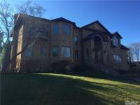 Great House At Glen Cove. All Brick And Stone Colonial