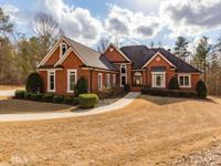 Gorgeous Custom Built, 4 Sides Brick Ranch on a 2+ Acre