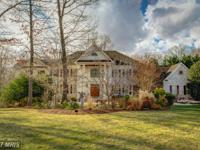 Stunning home on 5 acres near historic town of Clifton.