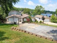 Fabulous transitional lakefront on double lot offers