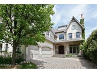 On a rare 60x215 lot - this over 7000 SF home is oozing