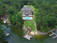 Modern day castle on lake wylie. Large custom brick &