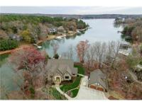Magnificent custom home on a gorgeous waterfront lot