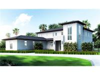 Under construction gated contemporary residence by