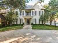 Classic traditional located oversized corner lot in