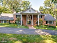 Gorgeous brick estate home on 5 acres with lots of