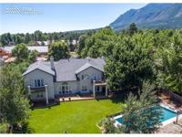 Private Broadmoor Estate on a prime lot, beautiful year