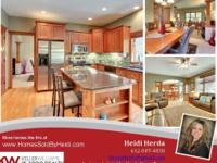 5 Bedroom, Two Story Champlin Home For Sale -