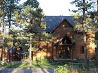 Lodge Living! 5 BD, 4.5 BA home with open floor plan,
