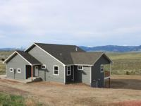 New custom home situated on 40 acres with amazing