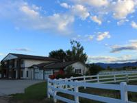 Equine estate with 37.9 irrigated acres between
