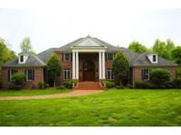BEAUTIFUL SOUTHERN BRICK TRADITIONAL ON 5 ACRES with 5