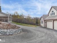 Beautiful Hillside home on 2.5 acres, which allows for