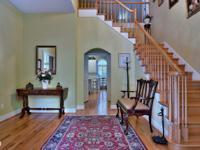 Kitchen/Keeping Room opens to upper floor. Living,