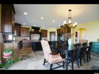 Gorgeous custom home with great VIEWS! Custom kitchen