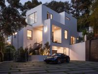 This gorgeous Beverly Hills contemporary is a