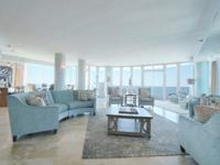 Penthouse unit encompasses the entire 17th floor and