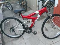 SELLING 5 BIKES IN REALLY GOOD CONDITIONS-  -26'RED