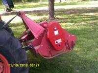CARONI 5' Rear Flail Mower. Fixed 3 point tractor