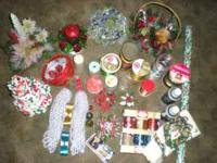 Hello I have a lot of Christmas items ranging from 2