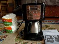 5 CUP NEW PROGRAMMABLE MR. COFFEE & FILTERS! THIS IS A