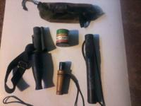 Im selling my deer calls, there are 5 total, you get 1-
