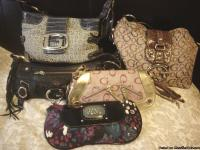 I have 5 designer bags for sale. they have all been