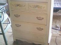 This is in good shape and drawers work well.  Not