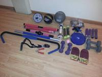$5 Exercise workout equipment in excellent condition if