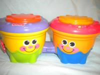 Fisher Price Toys  *Crawl Along Drum Roll     Two fun