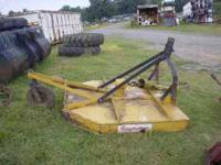 5' King Cutter Bush-Hog. Low hours. 4 years old. $500
