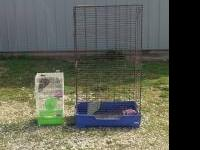 I have for sale a 5 foot tall ferret cage and a small