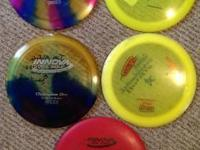 I have a few extra frolf disks that I dont really use.