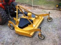 5 Ft. Woods Finishing Mower in Excellent Condition.